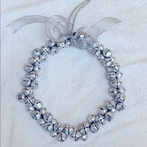 """Other - Silver bells holiday wreath 8"""""""